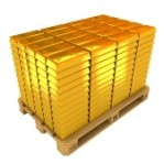 a-lot-of-gold-bars-on-the-pallet